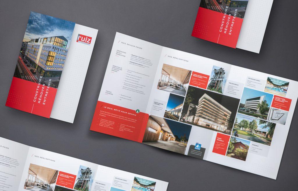 Création brochure RUIZ by Rougeot
