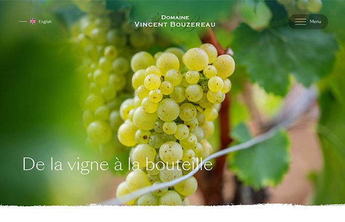 Création site internet viticole