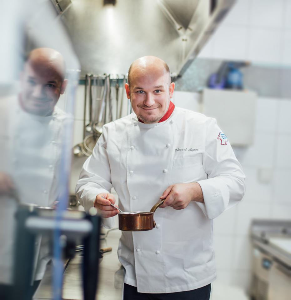 Photographe portrait cuisinier